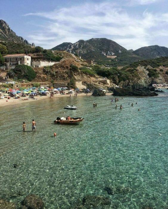 traveling to Sardinia