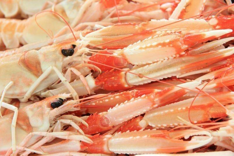 seafood in sardinia