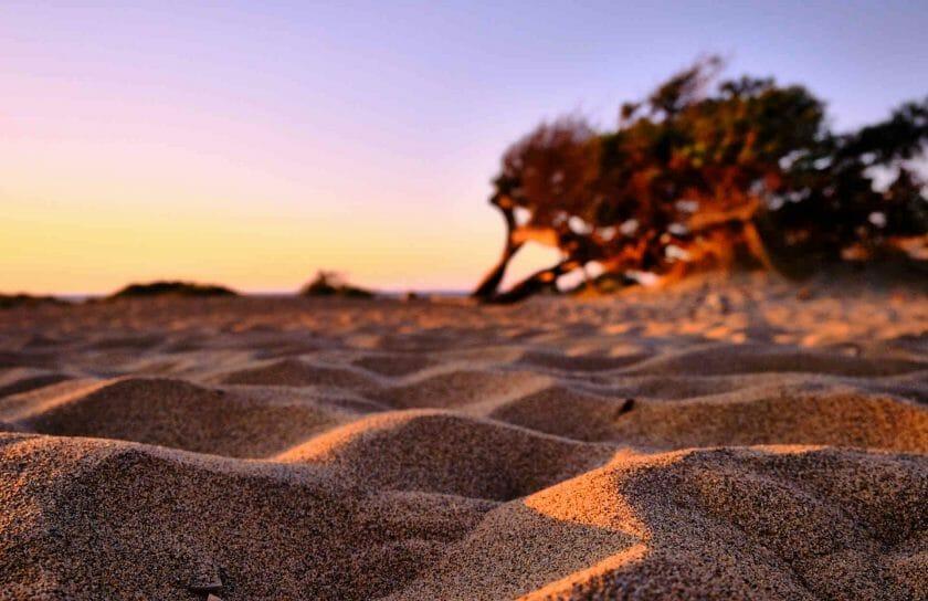 Sardinia sand