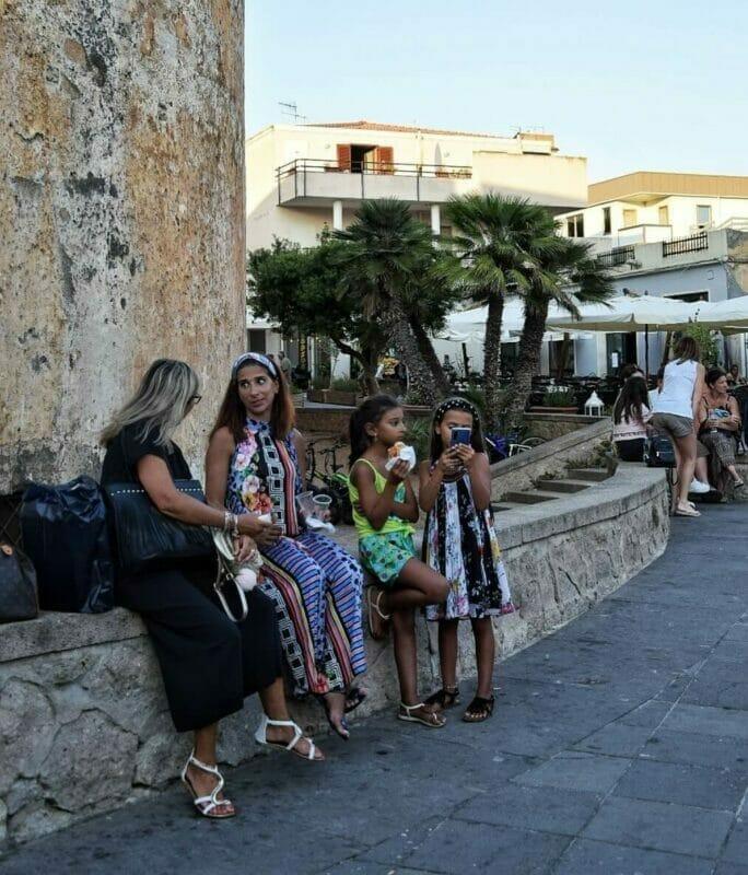 locals in Alghero