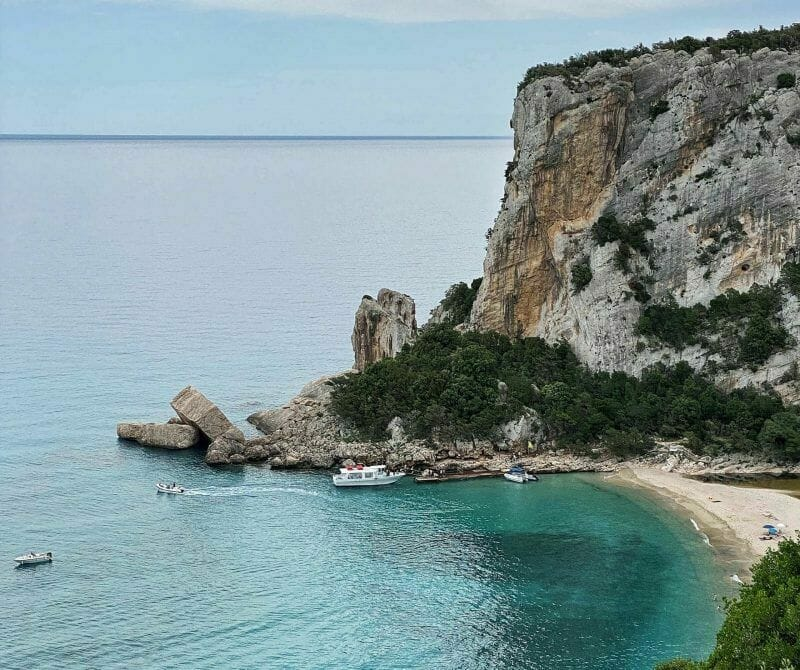 diving in Sardinia, Cala Luna