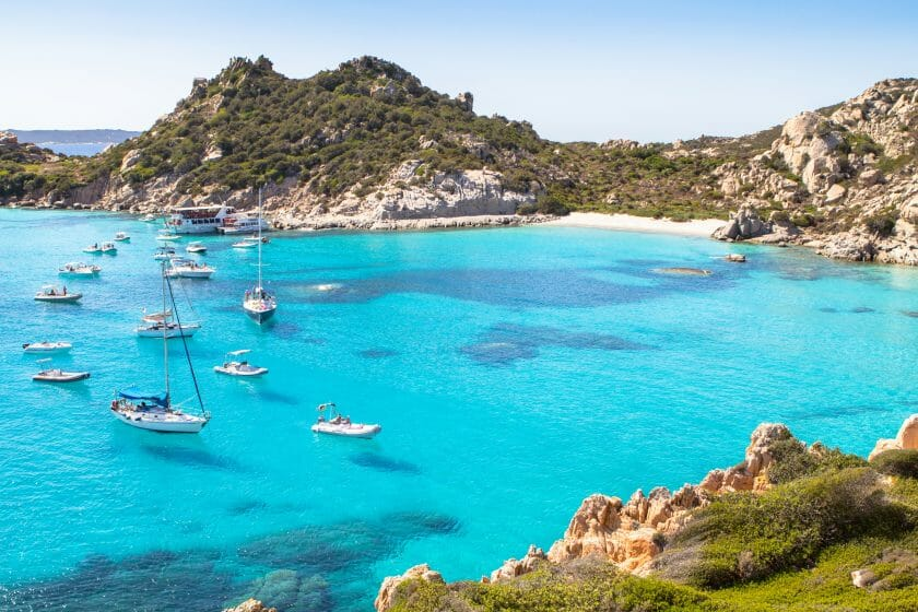 boat trips to La Maddalena