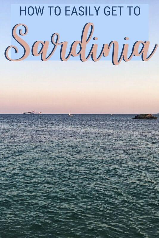 Discover how to get to Sardinia - via @c_tavani