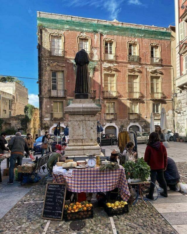 Castello Sunday market
