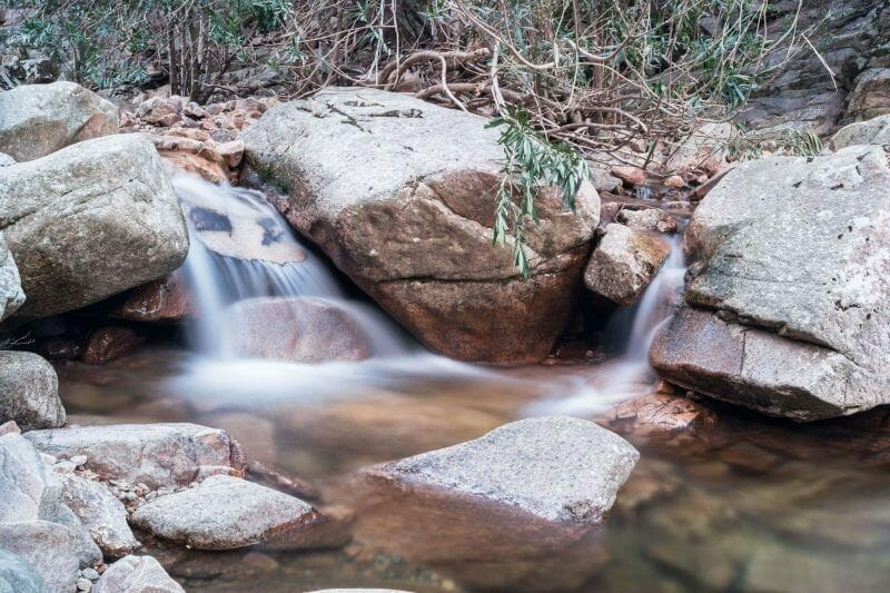 waterfalls in Sardinia