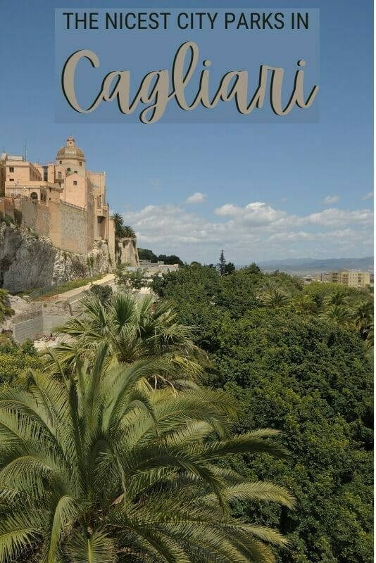 Discover the nicest city parks in Cagliari