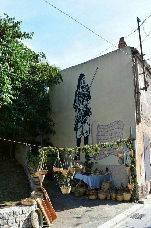 Sardinia murals