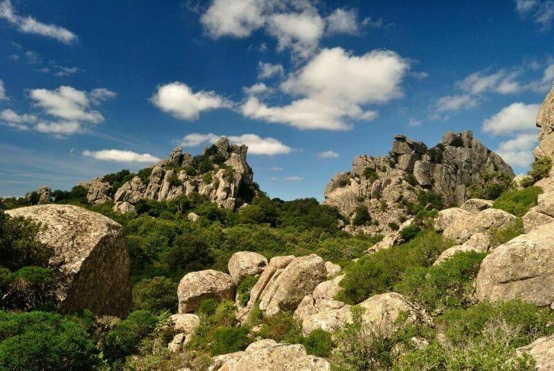 nature reserves in Sardinia