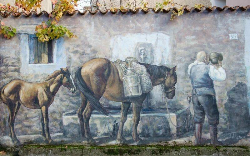 Street art in Sardinia
