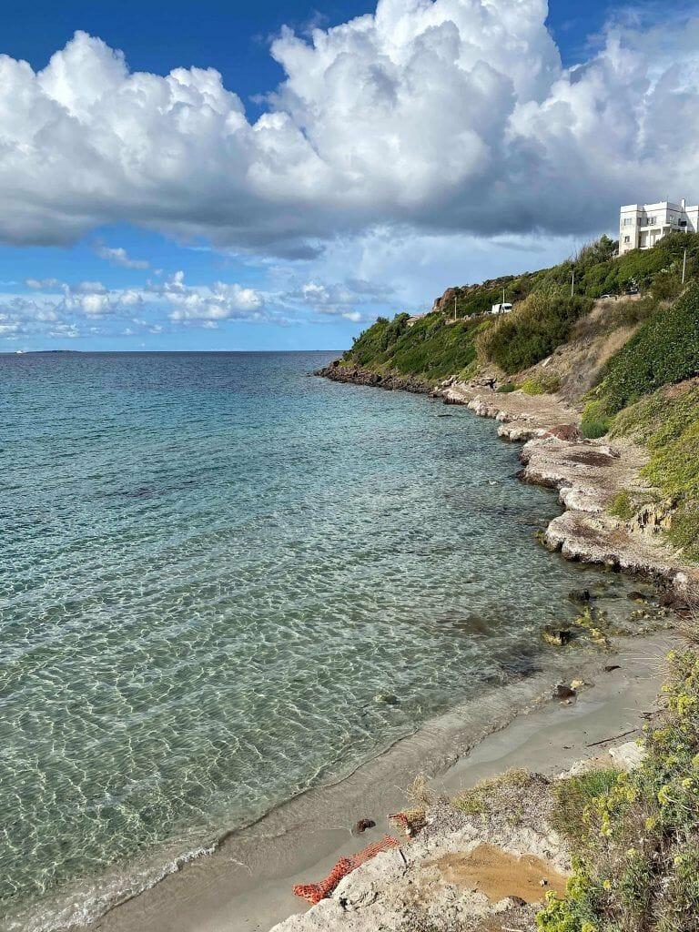 Calasetta beach