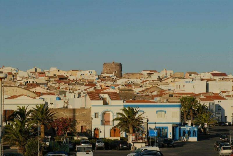 Calasetta view