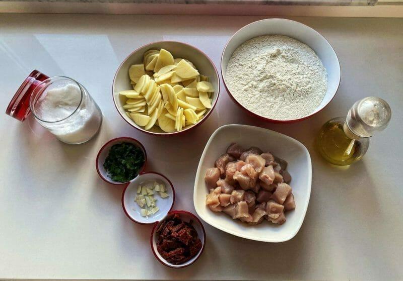 Ingredients for Sa Panada