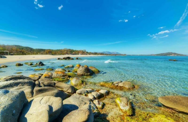 Nudist beaches in Sardinia