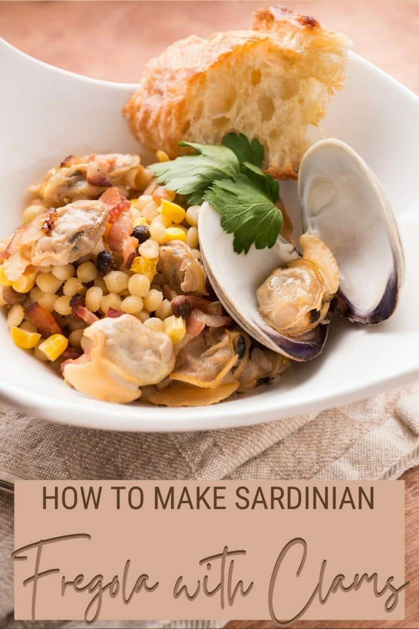 Check out this recipe for Sardinian fregola con arselle - via @c_tavani