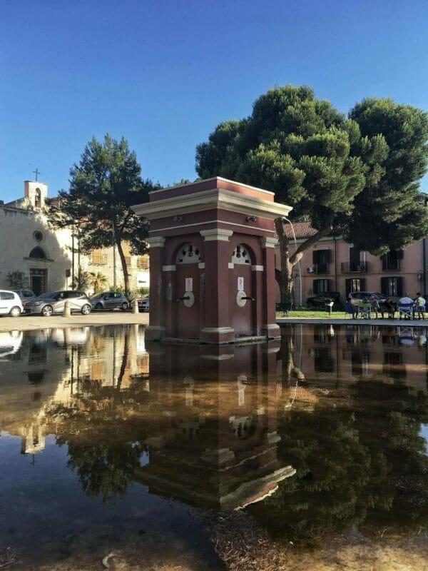 Squares in Cagliari