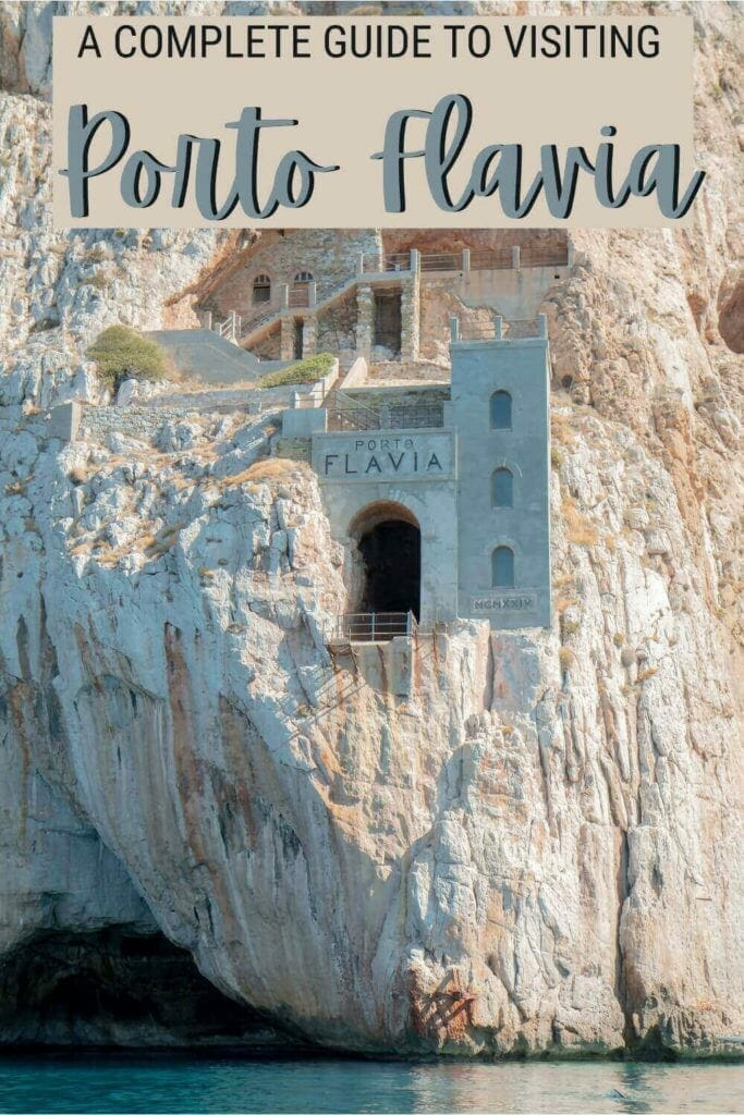 Check out what you must know before visiting Porto Flavia - via @c_tavani