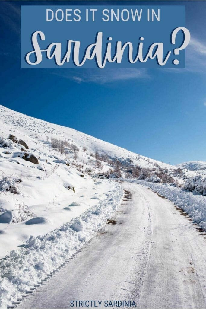 Find out if it snows in Sardinia - via @c_tavani