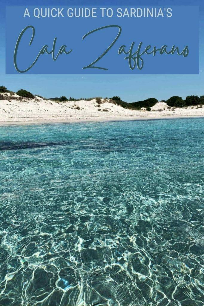 Discover how to make the most of Cala Zafferano, Sardinia - via @c_tavani