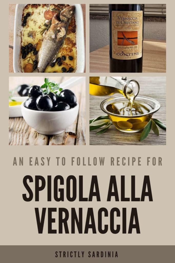 How to make Spigola alla Vernaccia - via @c_tavani