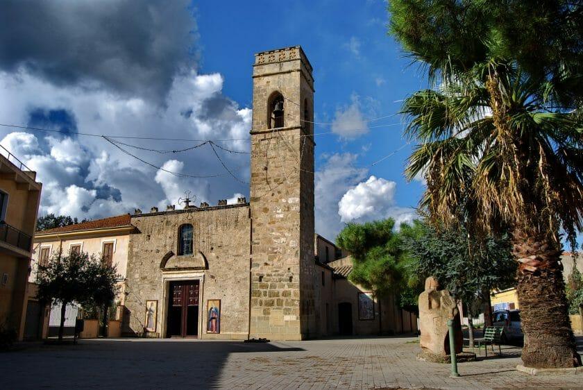 Church in San Sperate