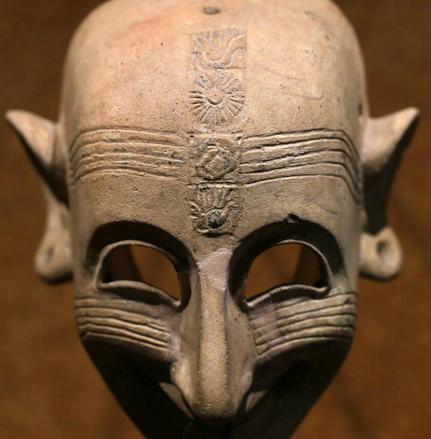 maschera ghignante