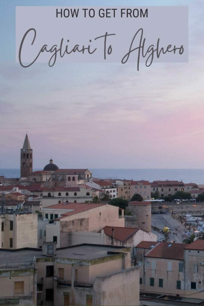 Learn how to get from Cagliari to Alghero - via @c_tavani