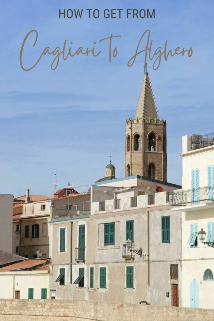 Disover the best way of getting from Cagliari to Alghero - via @c_tavani