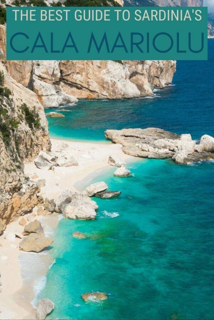 Discover how to make the most of Cala Mariolu, Sardinia - via @c_tavani