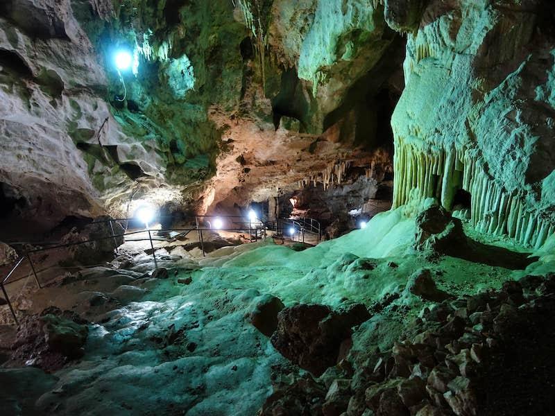 Is Zuddas Caves