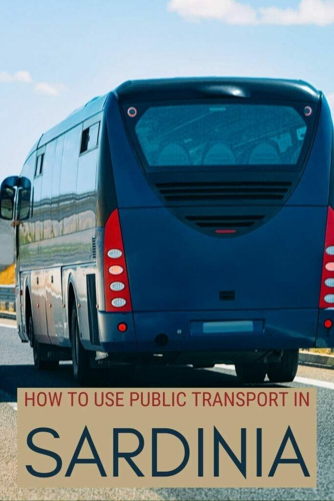 Discover how to use public transport in Sardinia - via @c_tavani