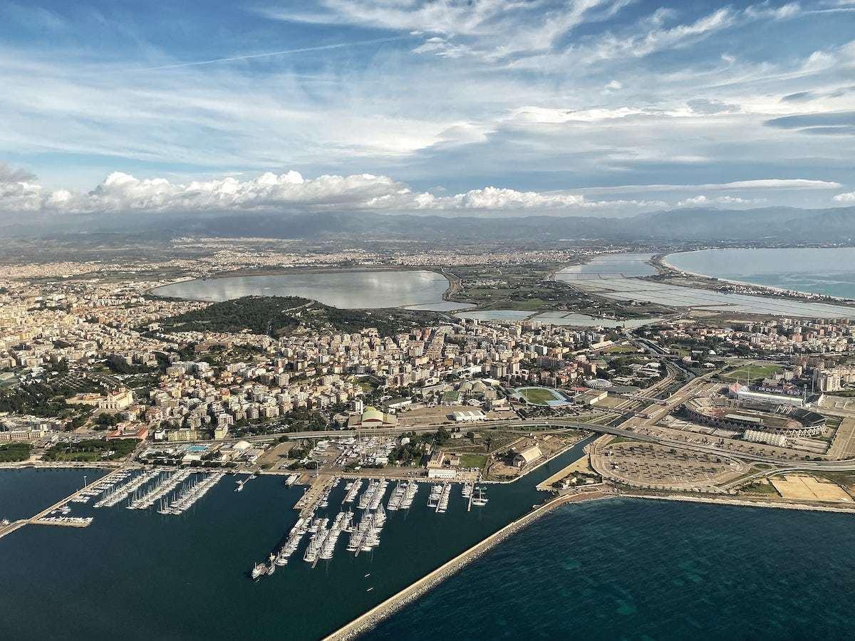 Cagliari airport to the city center