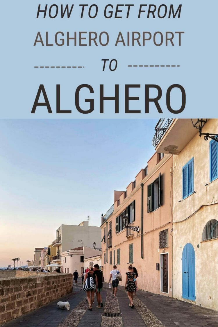 Discover how to get to Alghero from the airport - via @c_tavani