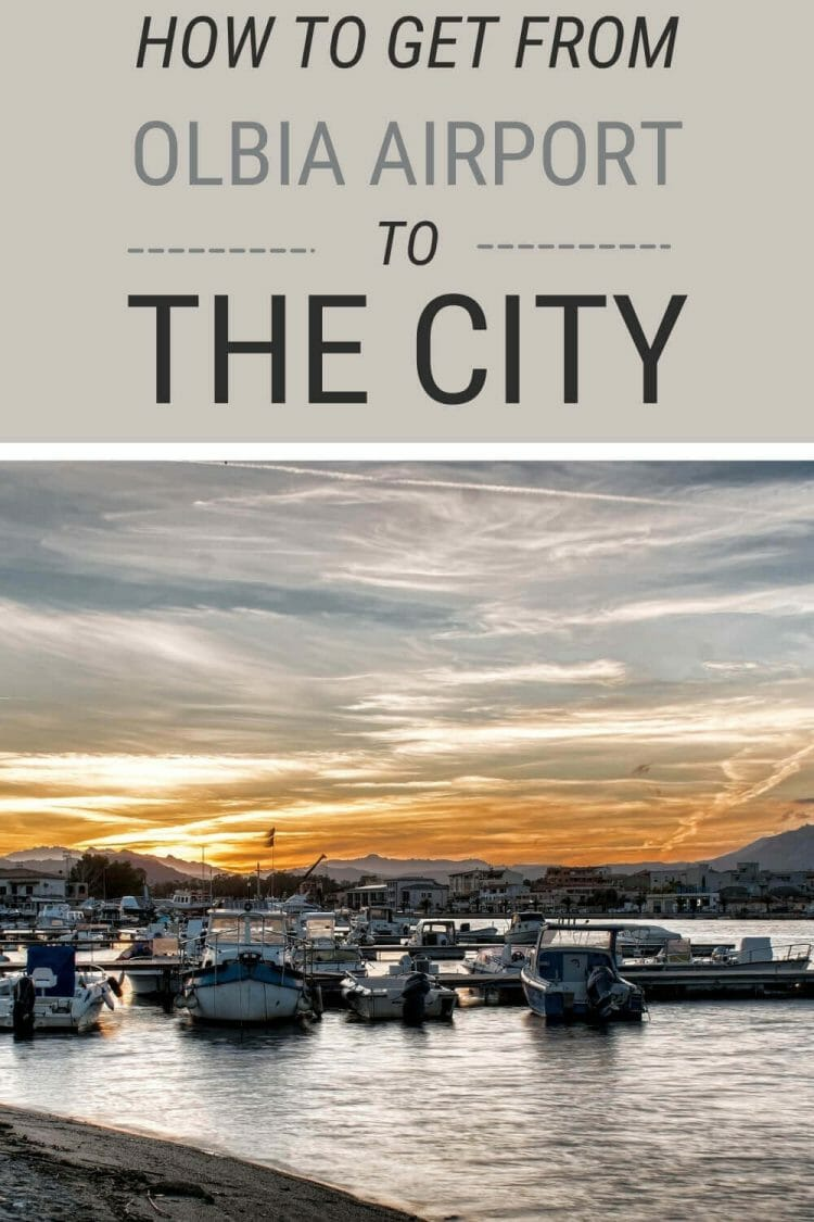 Discover how to get from Olbia Airport to the city center - via @c_tavani