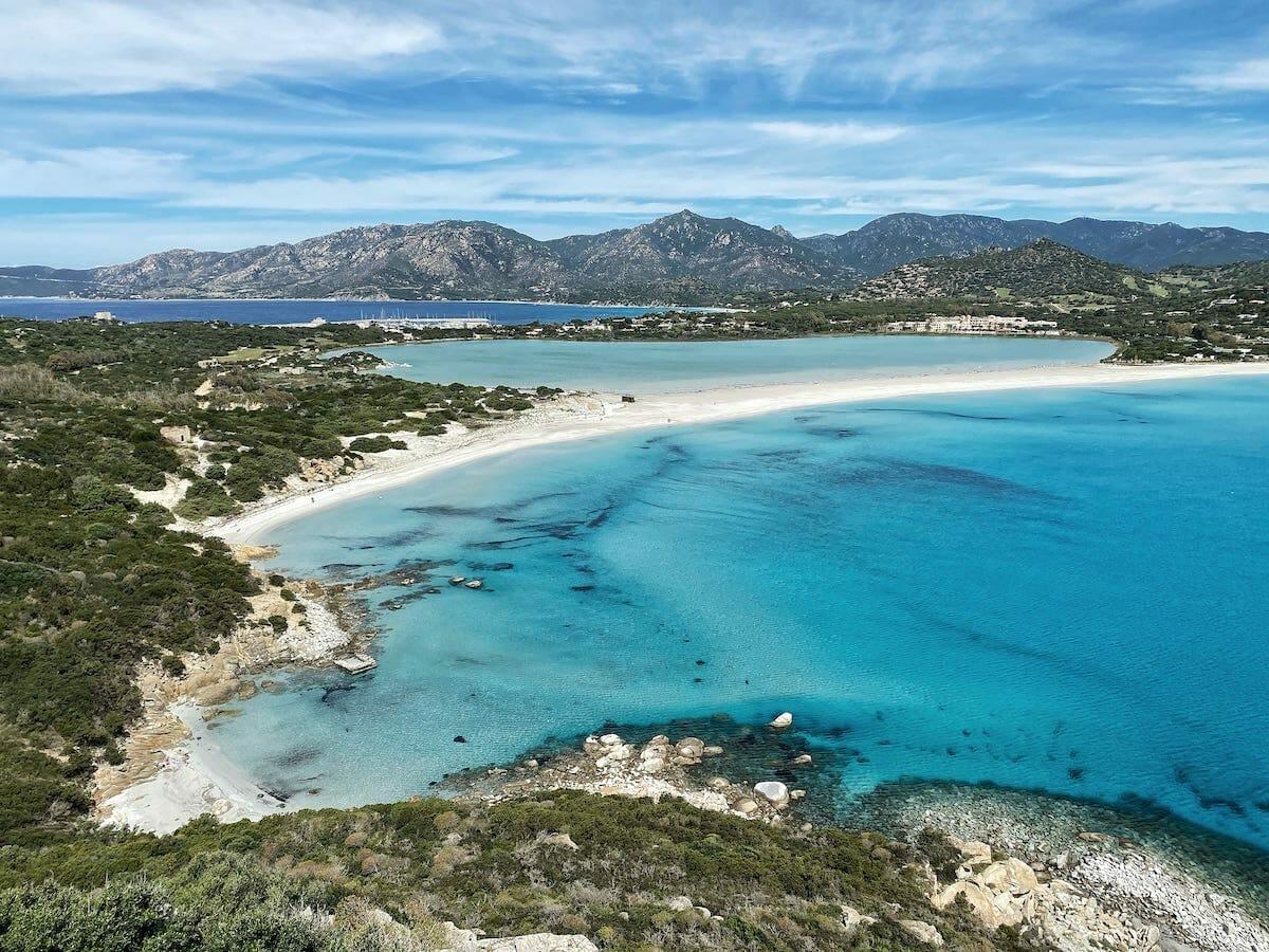 Sardinia sea temperature