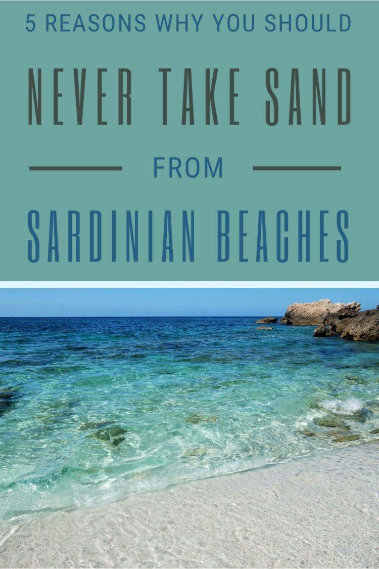Discover why you should never take Sardinia sand - via @c_tavani
