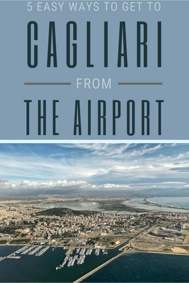 Discover how to get from Cagliari airport to the city center - via @c_tavani