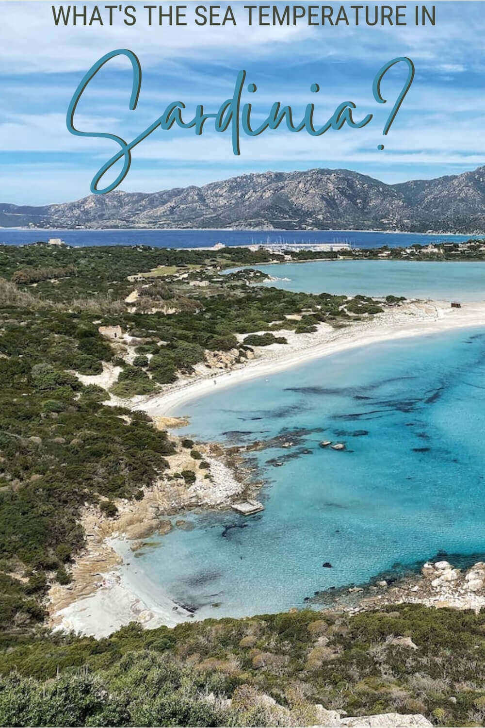 Check out the sea temperature in Sardinia and discover if you can swim year round - via @c_tavani