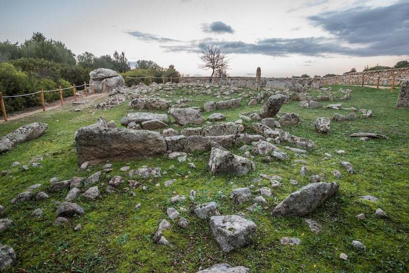Arzachena Li Muri Necropolis