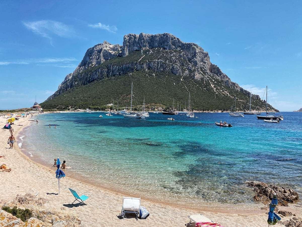 Tavolara island Sardinia