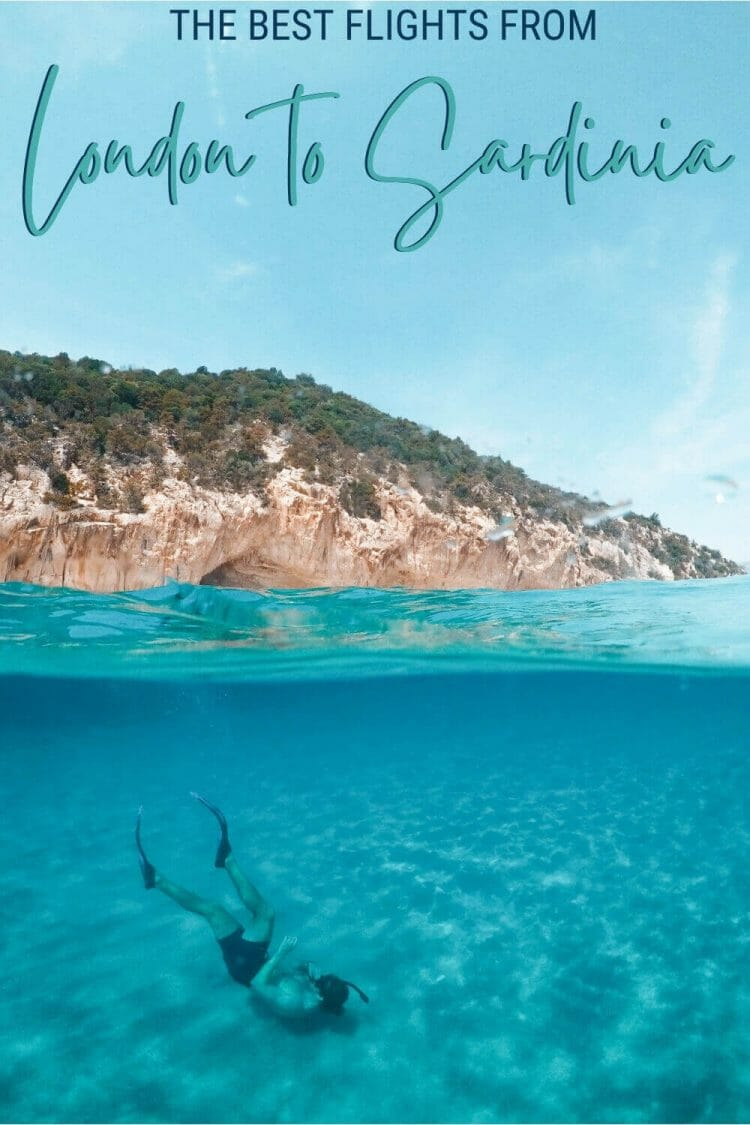 Discover which are the flights from London to Sardinia - via @c_tavani