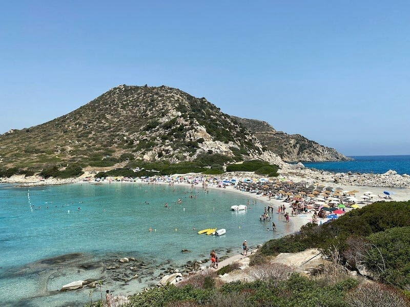 August in Sardinia