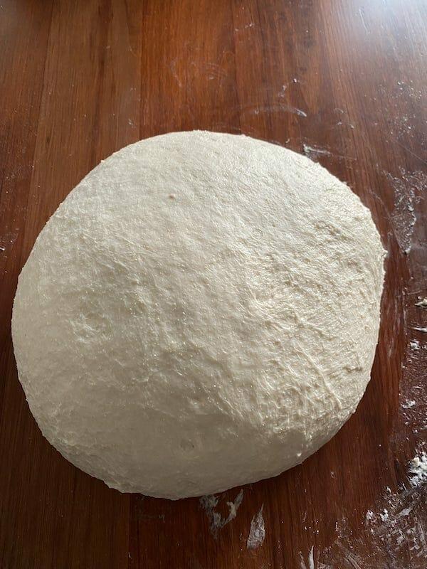 finished dough