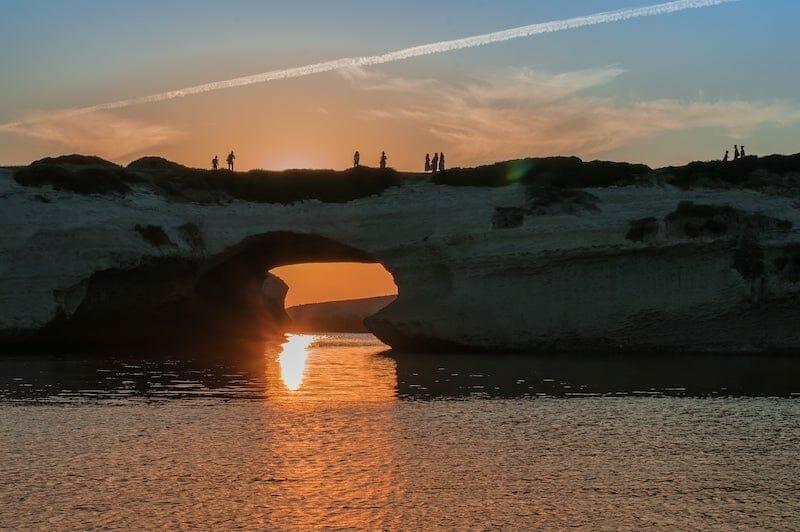 sunset in S'Archittu