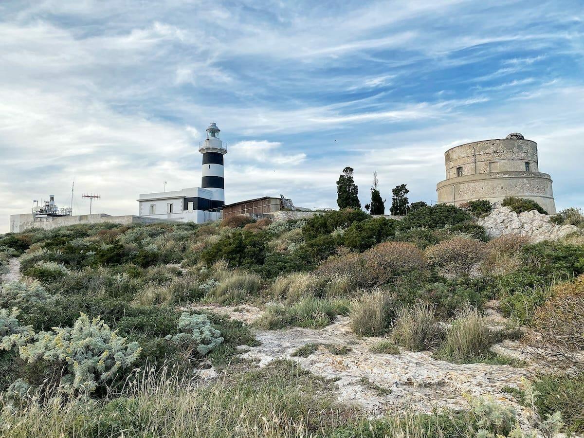 Lighthouses in Sardinia